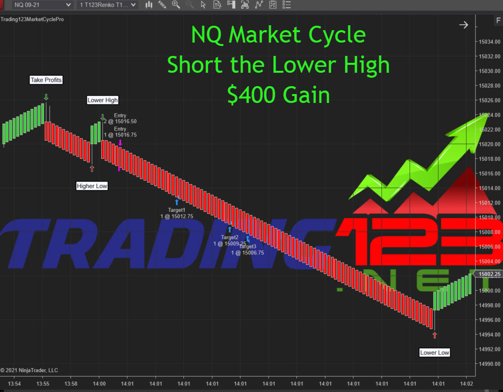 Market Cycle NinjaTrader 8 2